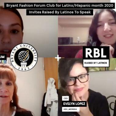 Bryant Fashion Forum Club for Latinx/Hispanic month 2020